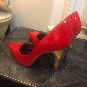 Shoes - Patent women's red shoes